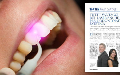 Un sorriso al laser: i vantaggi di una tecnica che mette KO il trapano