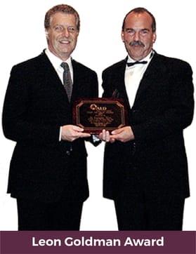 leon goldman award giovanni olivi